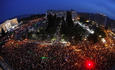 Over 50,000 Greek protesters assemble in the capital